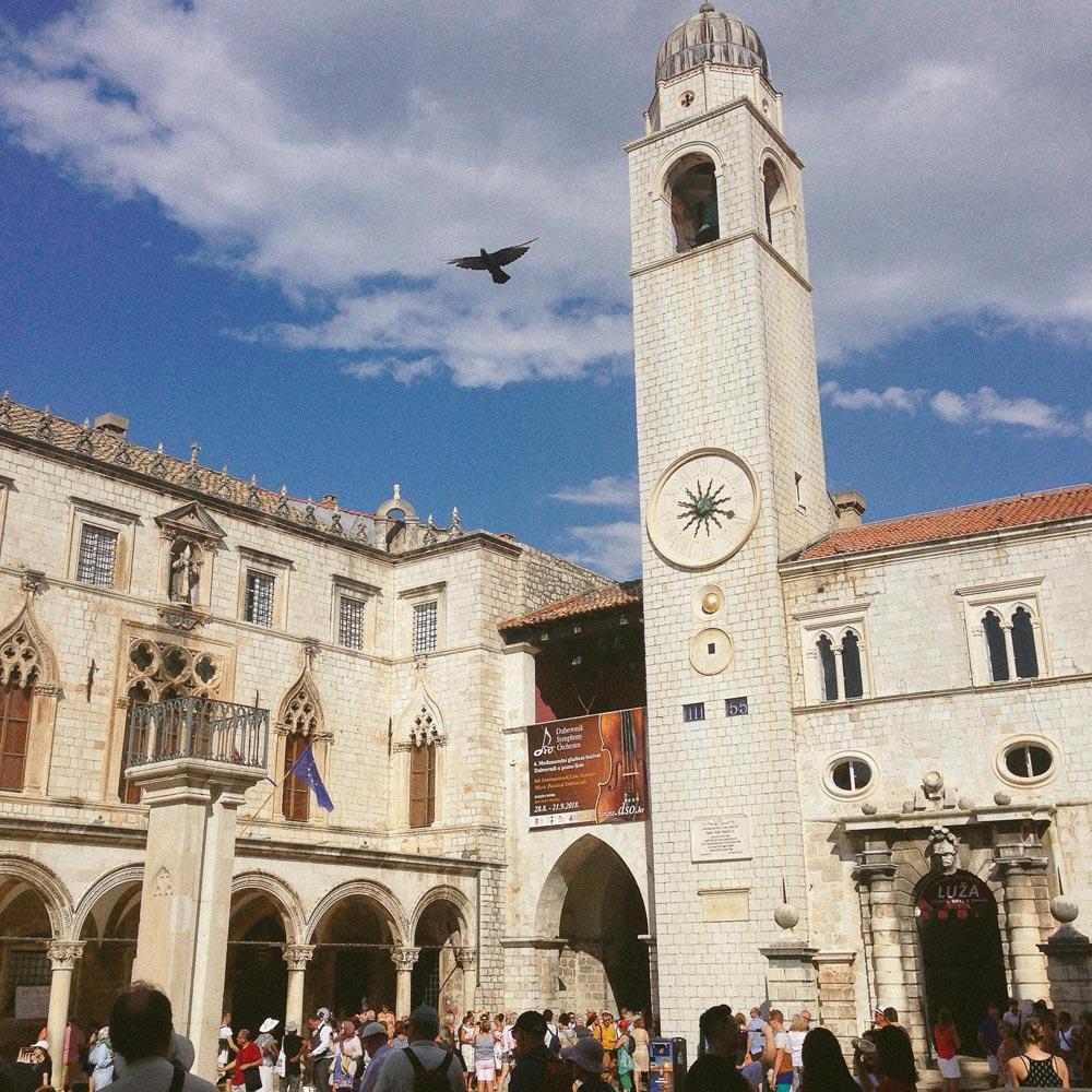 Center of Dubrovnik, Croatia