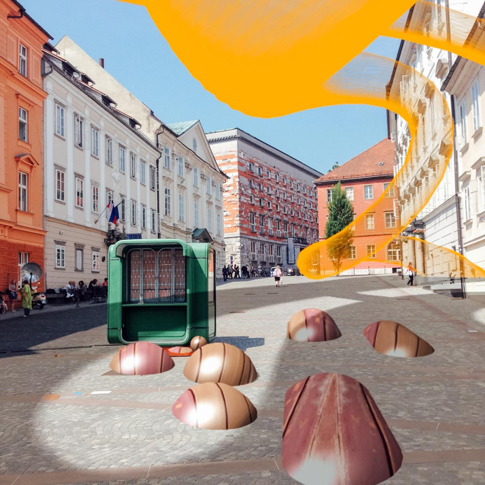 City of Ljubljana remixed @goldelisa